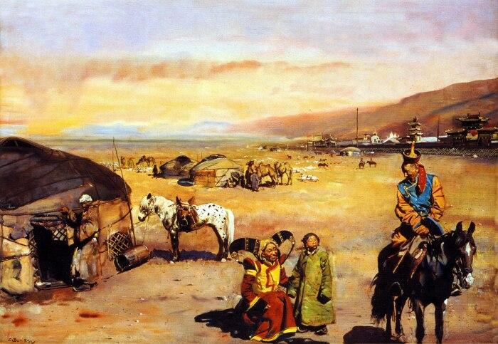 В итоге гунны перемешались с другими народами. |Фото: diary.ru.