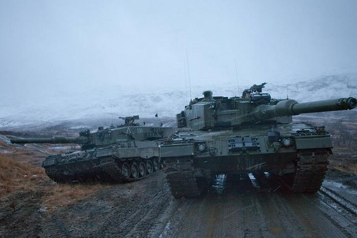 Современный и мощный танк.  Фото: mocah.org.