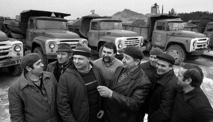 СССР был великой державой грузовиков. |Фото: ucoz.ru.