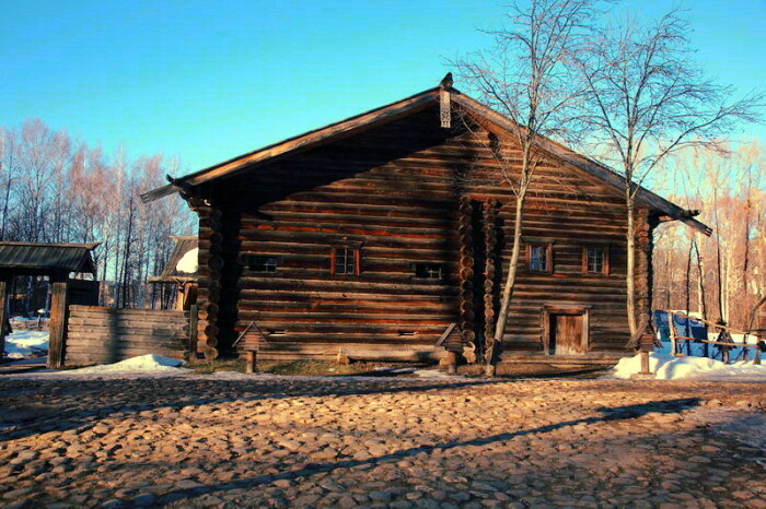 Курные избы стояли до XX века. ¦Фото: kostromka.ru.