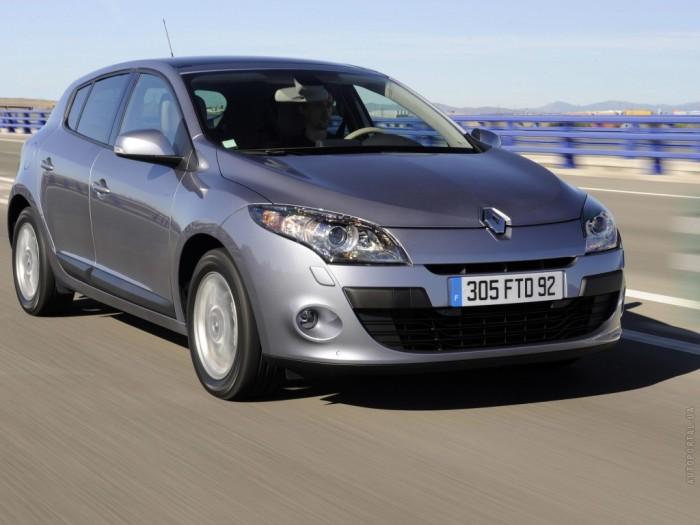 3. Renault Megane   - это превосходный автомобиль.