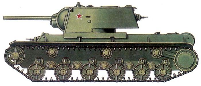 Рисунок танка.