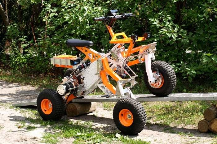 Квадроцикл, который не знает преград.