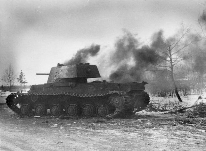 Производство КВ-1 свернули в 1942 году. ¦Фото: ya.ru.