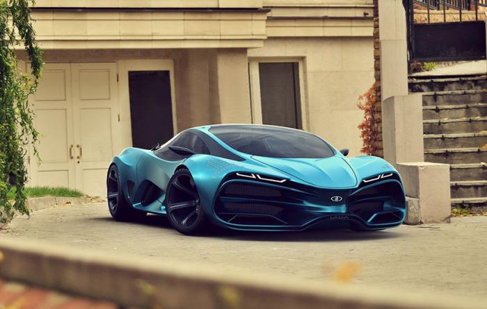 Автомобиль будущего от АвтоВАЗ.