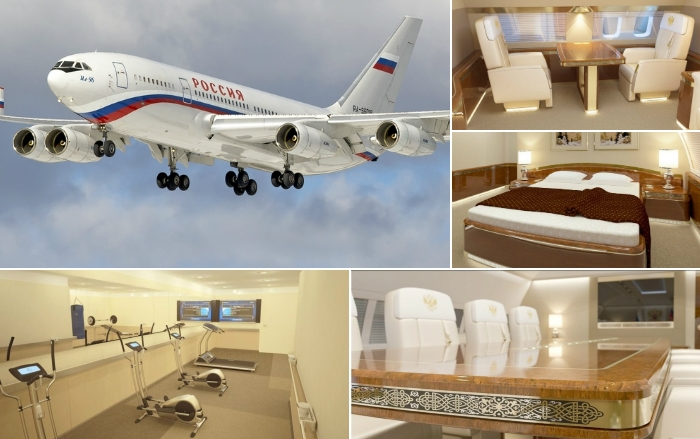 Новый самолёт российского президента.