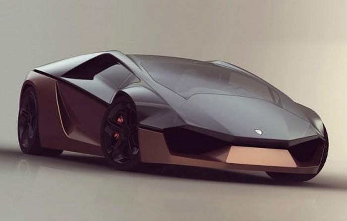 Клиновидный суперкар от Lamborghini.