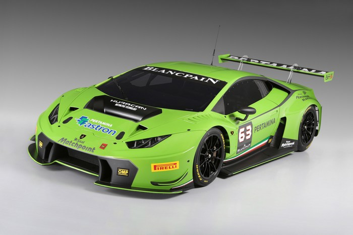 Сверхбезопасный суперкар от Lamborghini.