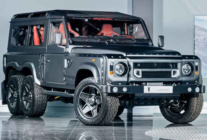 Kahn Designs Flying Huntsman 105 6x6.