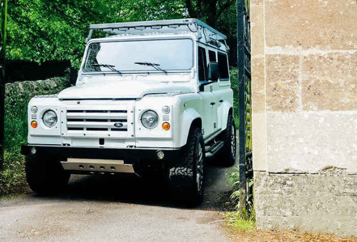The Rapide Defender.