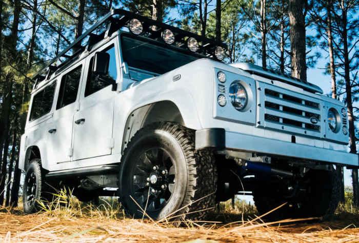 Эксклюзивные модели Land Rover Defender.