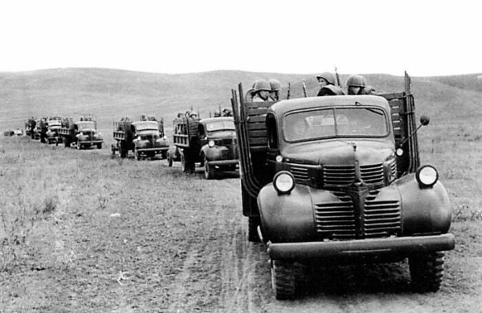 В СССР были поставлены тысячи грузовиков. ¦Фото: livejournal.com.