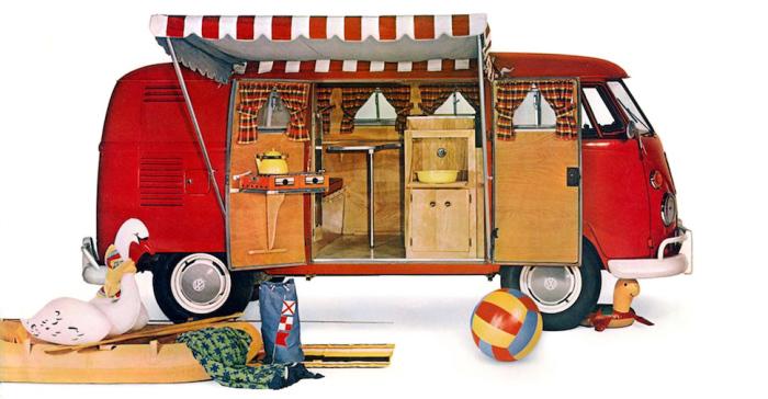 Volkswagen Camper.