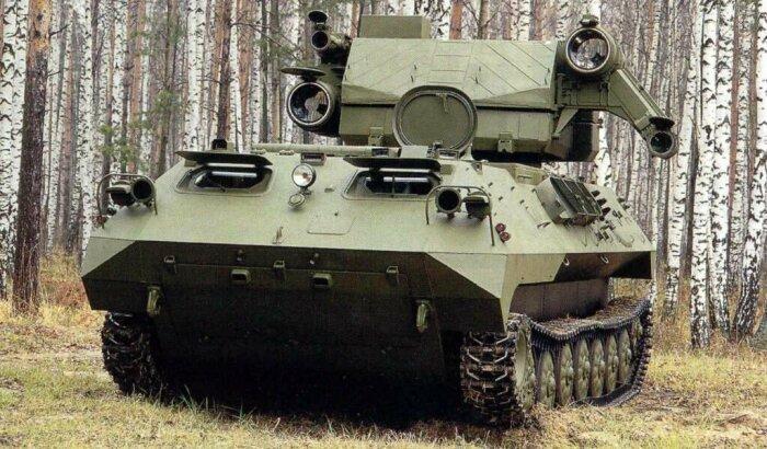 Первый советский военный лазер Стилет. |Фото: Twitter.