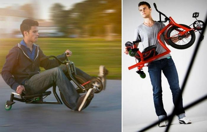 Тайлер Хадзицки и его LeauxRacing Trike.