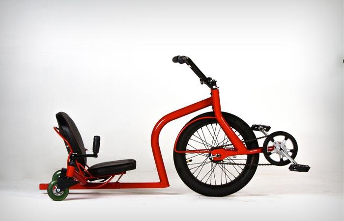 Трёхколёсный LeauxRacing Trike для любителей экстремальной езды.