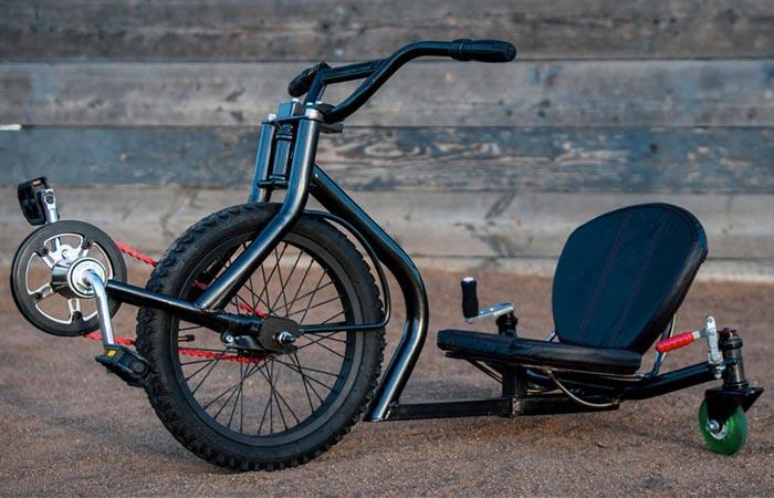 Необычный велосипед Leaux Racing Trike.