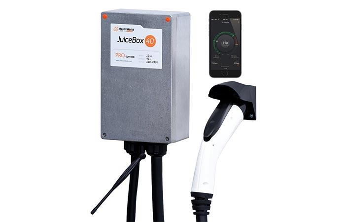 Зарядная станция Juicebox Pro 40A.