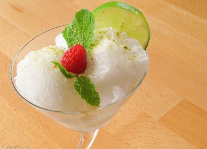 Фалуде - традиционный восточный десерт изо льда в современном исполнении. |Фото: worldfood.guide.