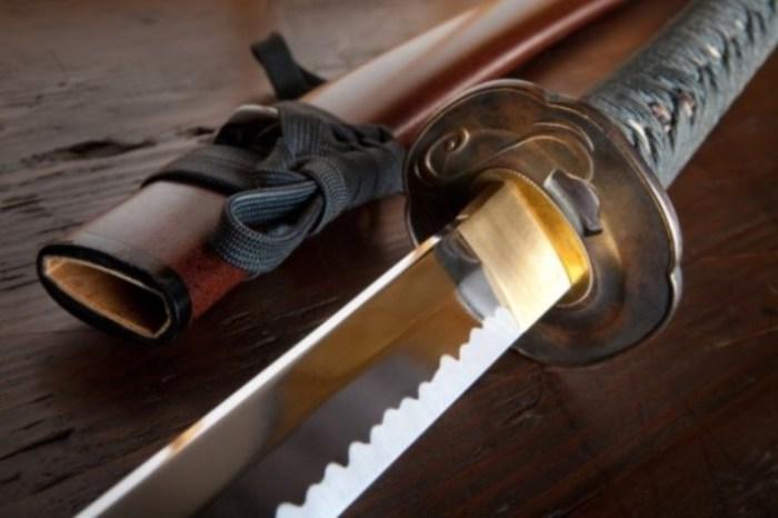 Секретный меч императорской семьи.