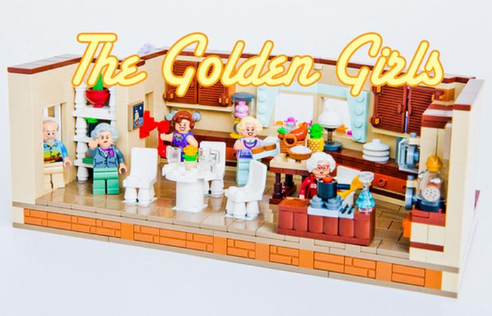 Кухня золотых девочек.