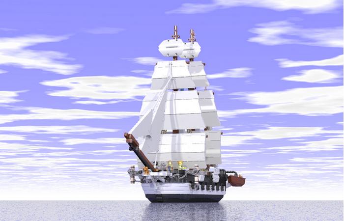 HMS (корабль ее Величества) БИГЛЬ.