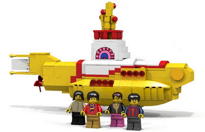 Желтая подводная лодка The Beatles.