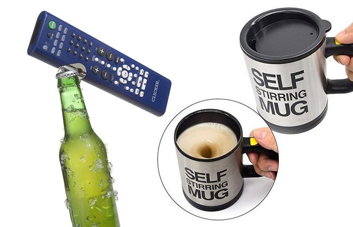 15 гениальных изобретений, которые станут просто находкой для ленивых людей.