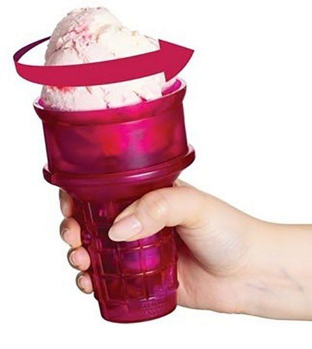 Моторизованный рожок для мороженого.