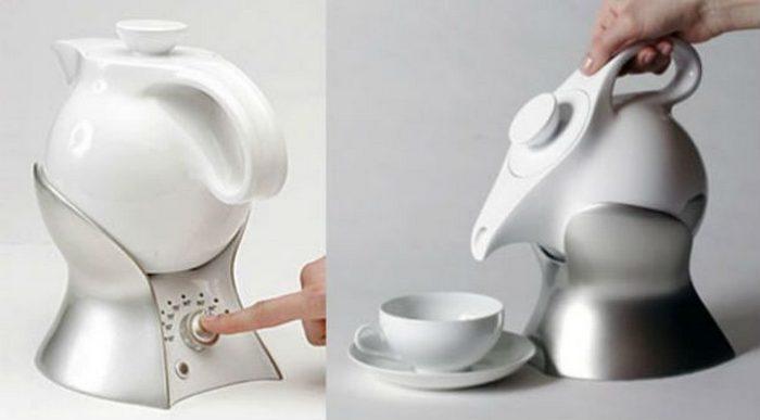 Чайник, который не нужно поднимать.