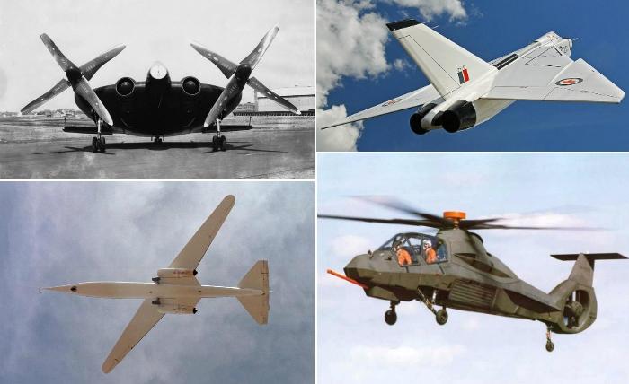 Невероятные летательные аппараты.
