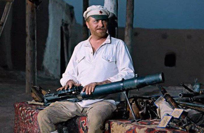 На самом деле в фильме использовали пулемет ДТ. |Фото: drive2.ru.