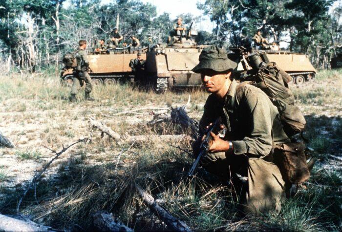 Война во Вьетнаме стала серьезным испытанием для армии США.  Фото: Pinterest.
