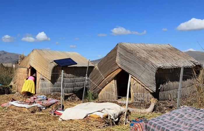 Альтернативный способ жизни: примитивные деревни.