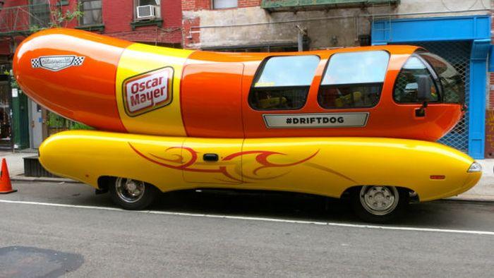 Wienermobile.