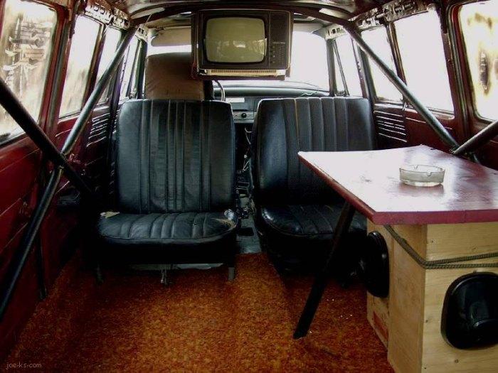 Салон лимузина Skoda.