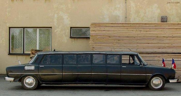 Лимузин Skoda.