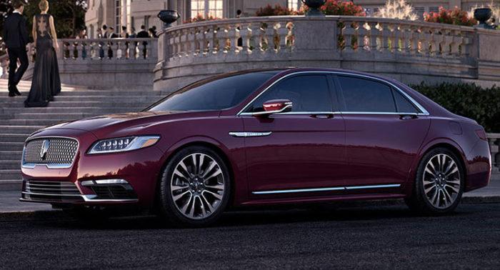 Lincoln Continental - пока всё ещё концепт.