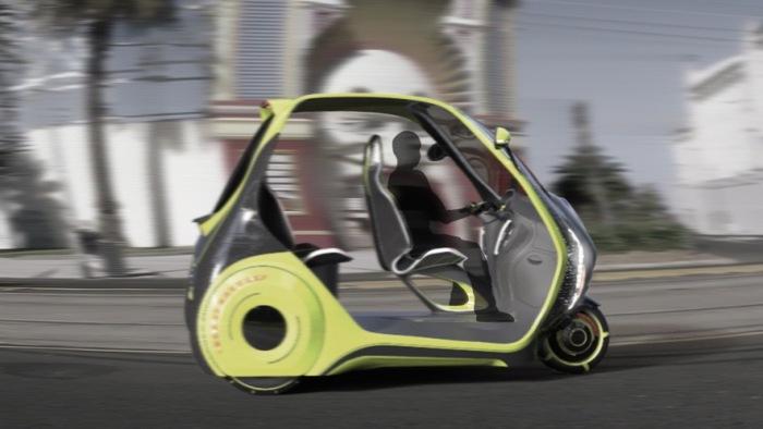 Автомобиль для городских пробок.