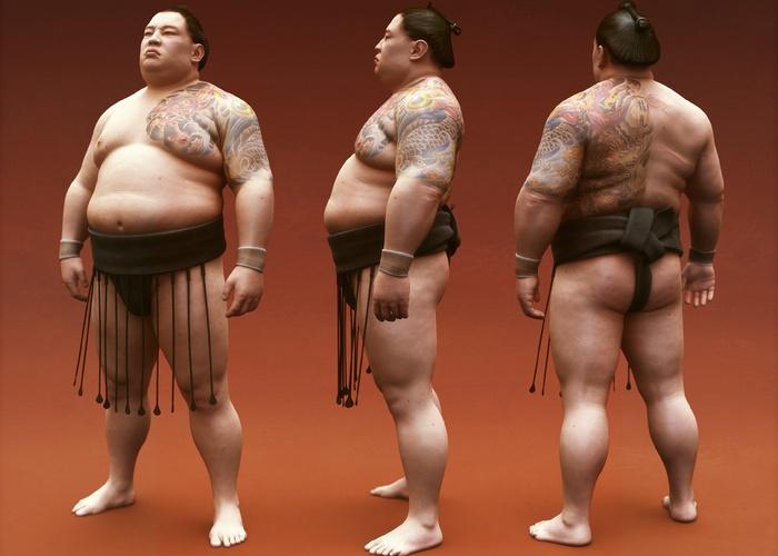 Якудза и сумо.