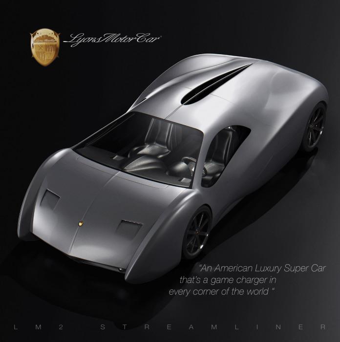 LM2 Streamliner - автомобиль на миллион.