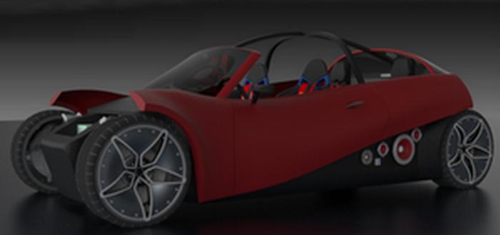 75% конструкции и деталей LM3D напечатано на 3D принтере.
