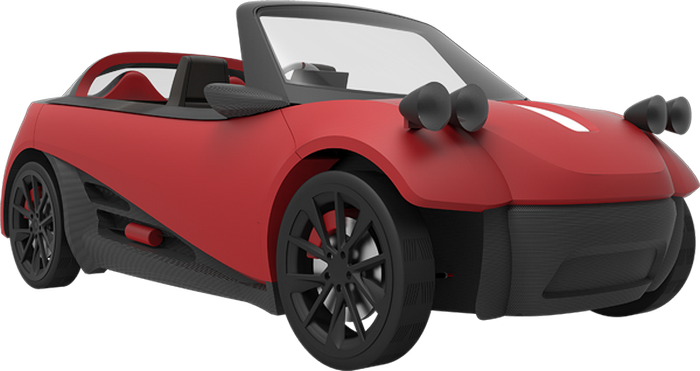 Спорткар LM3D - новое слово в автомобилестроении.