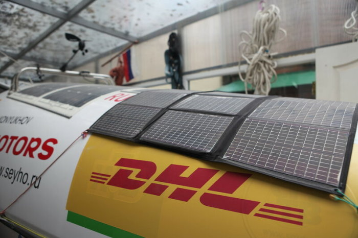 Солнечные батареи в комплекте. |Фото: livejournal.com.