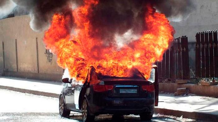Все горят, не только электрокары.