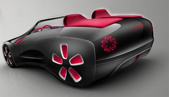Loop Vignette - электромобиль будущего.