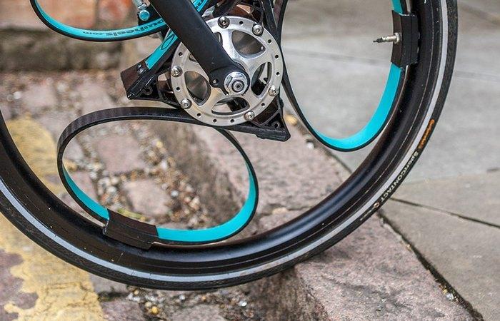 Колесо Loopwheels для комфортной езды.