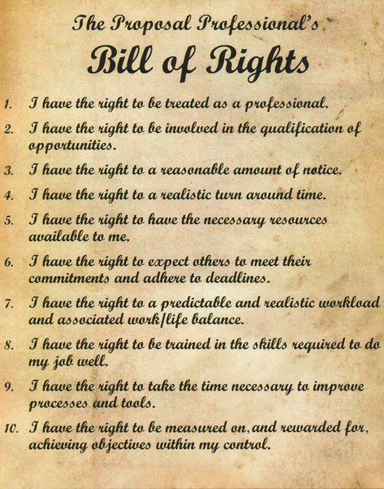 Билль о правах.
