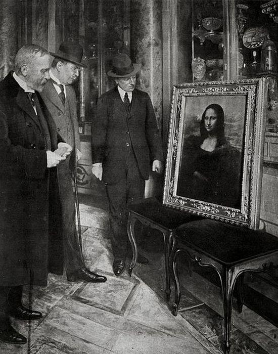 Возвращение в Лувр.