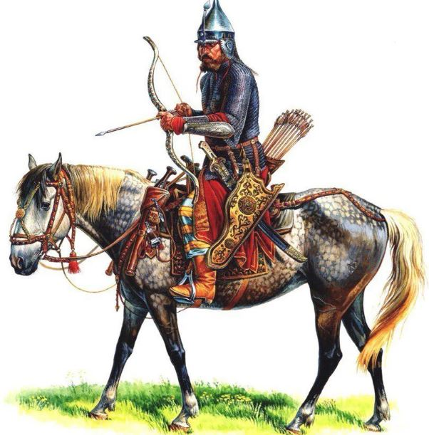 Примерно так выглядела конницы ко времени правления Ивана Грозного. |Фото: yandex.uz.